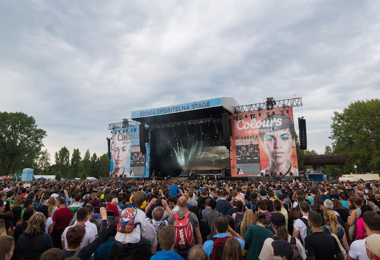 Ostrava festival Colours of Ostrava