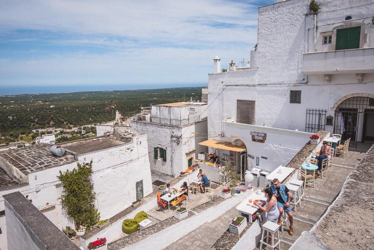 Ostuni Puglia restaurants