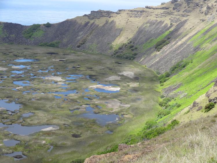 Paaseiland bezoeken krater bezienswaardigheden