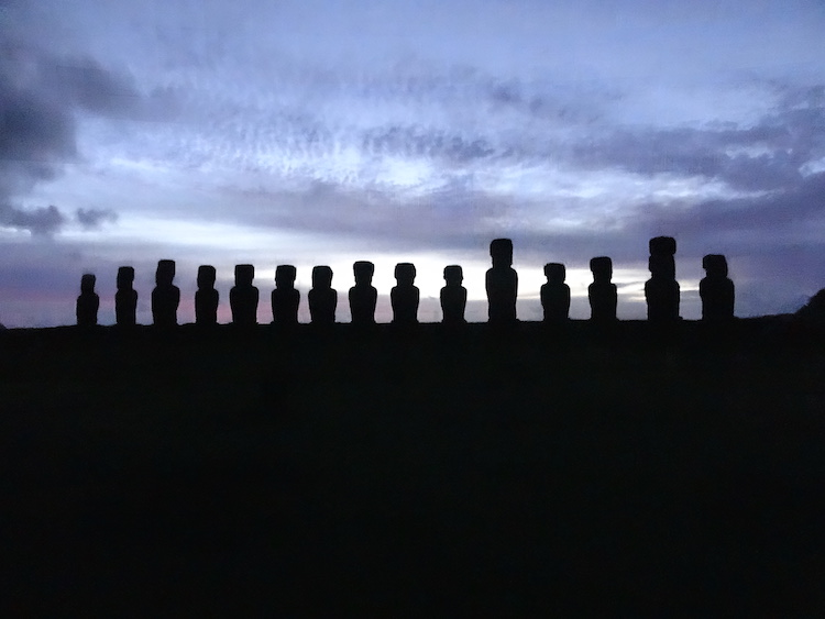 Paaseiland bezoeken zonsondergang zonsopgang