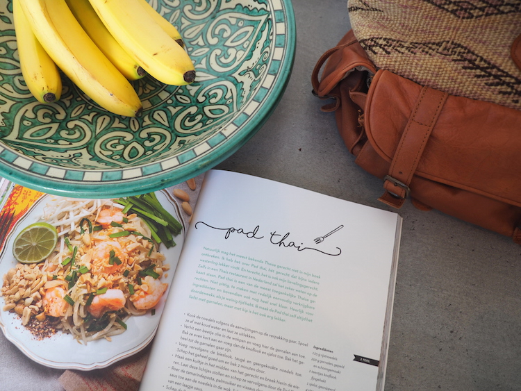 Pad thai recept reishonger kookboek