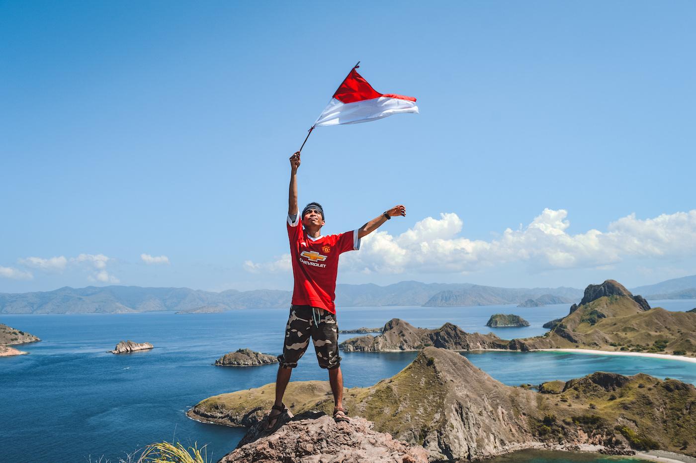 Padar island indonesie