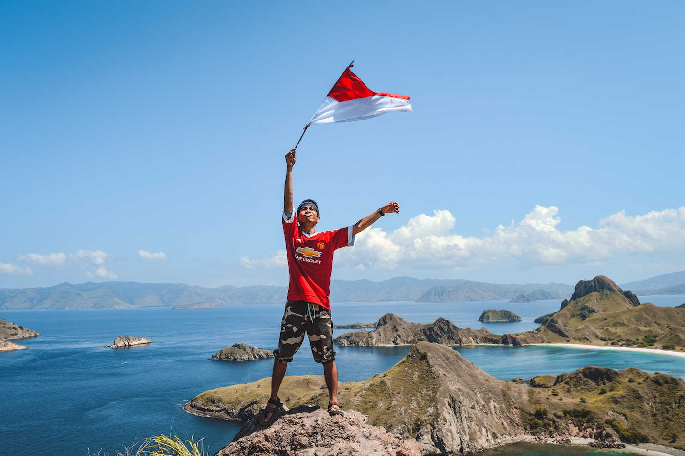 Padar island indonesie