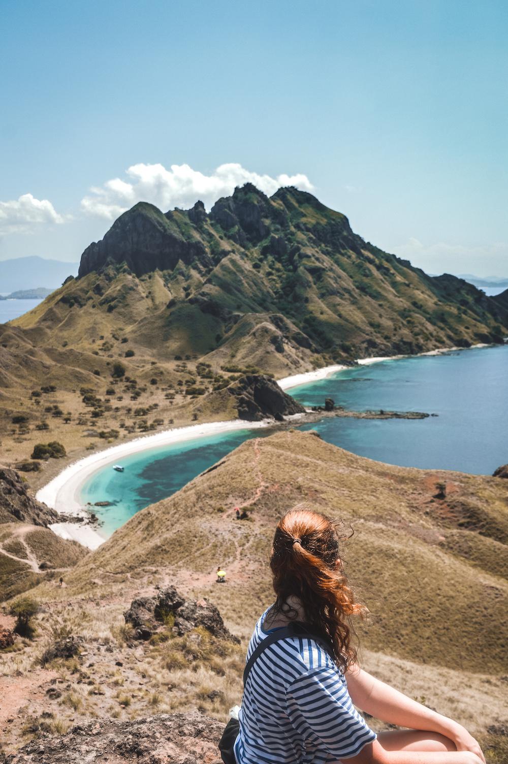 Padar island uitzicht