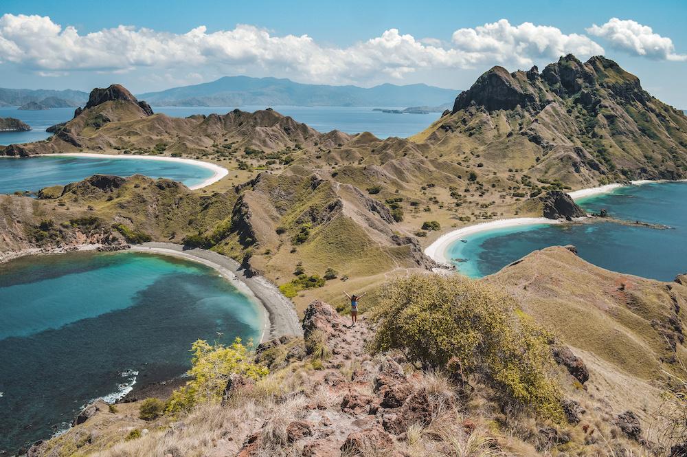 Padar island viewpoint