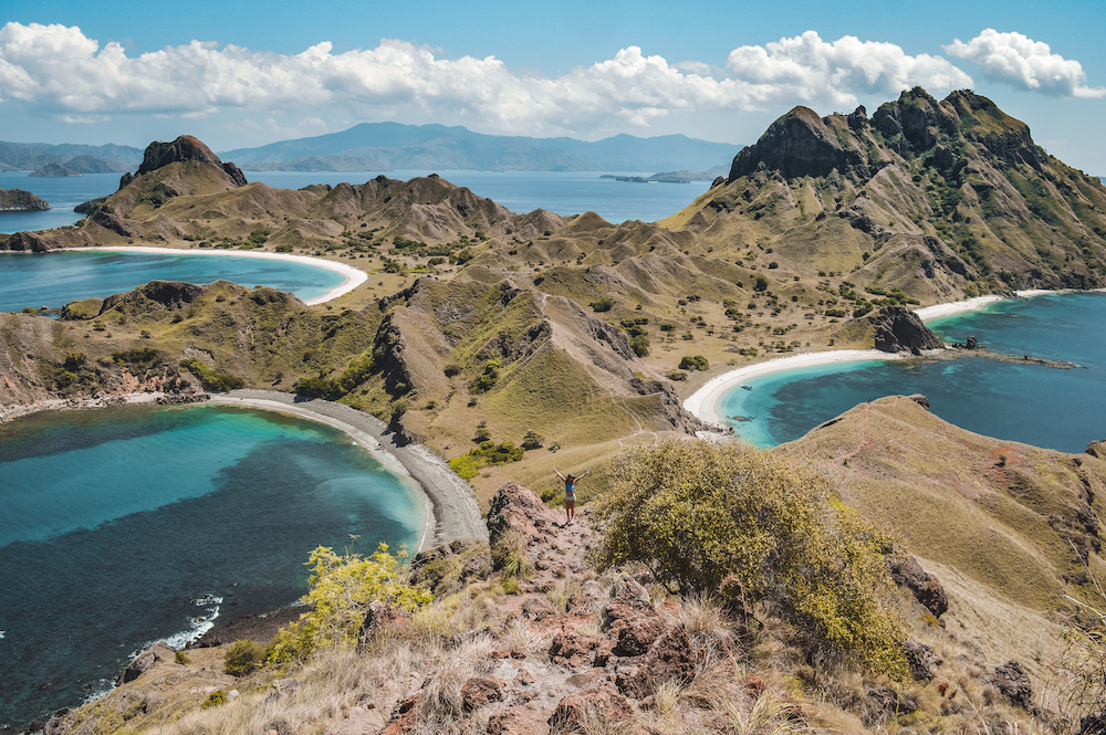 Padar island viewpoint