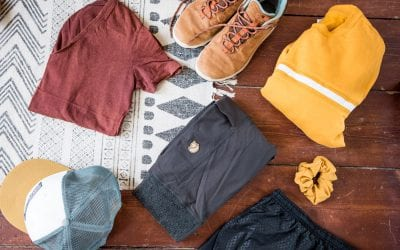Paklijst Canada kleding