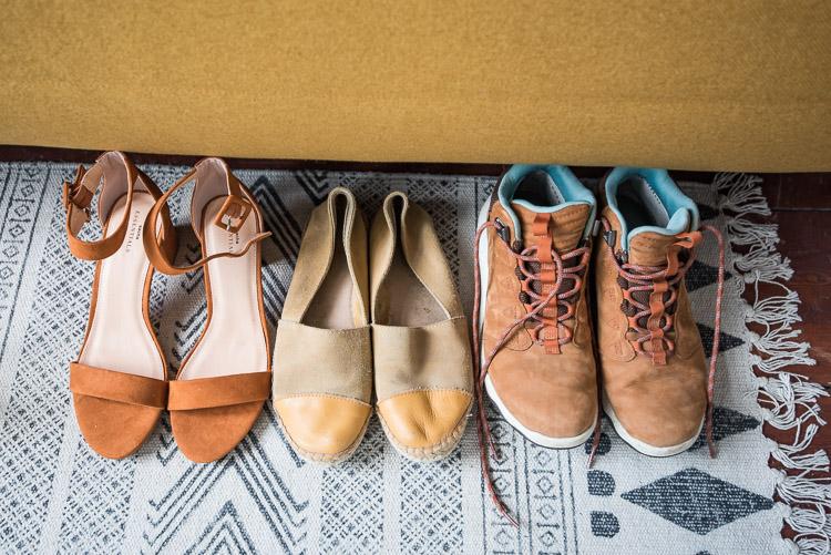 Paklijst Canada schoenen