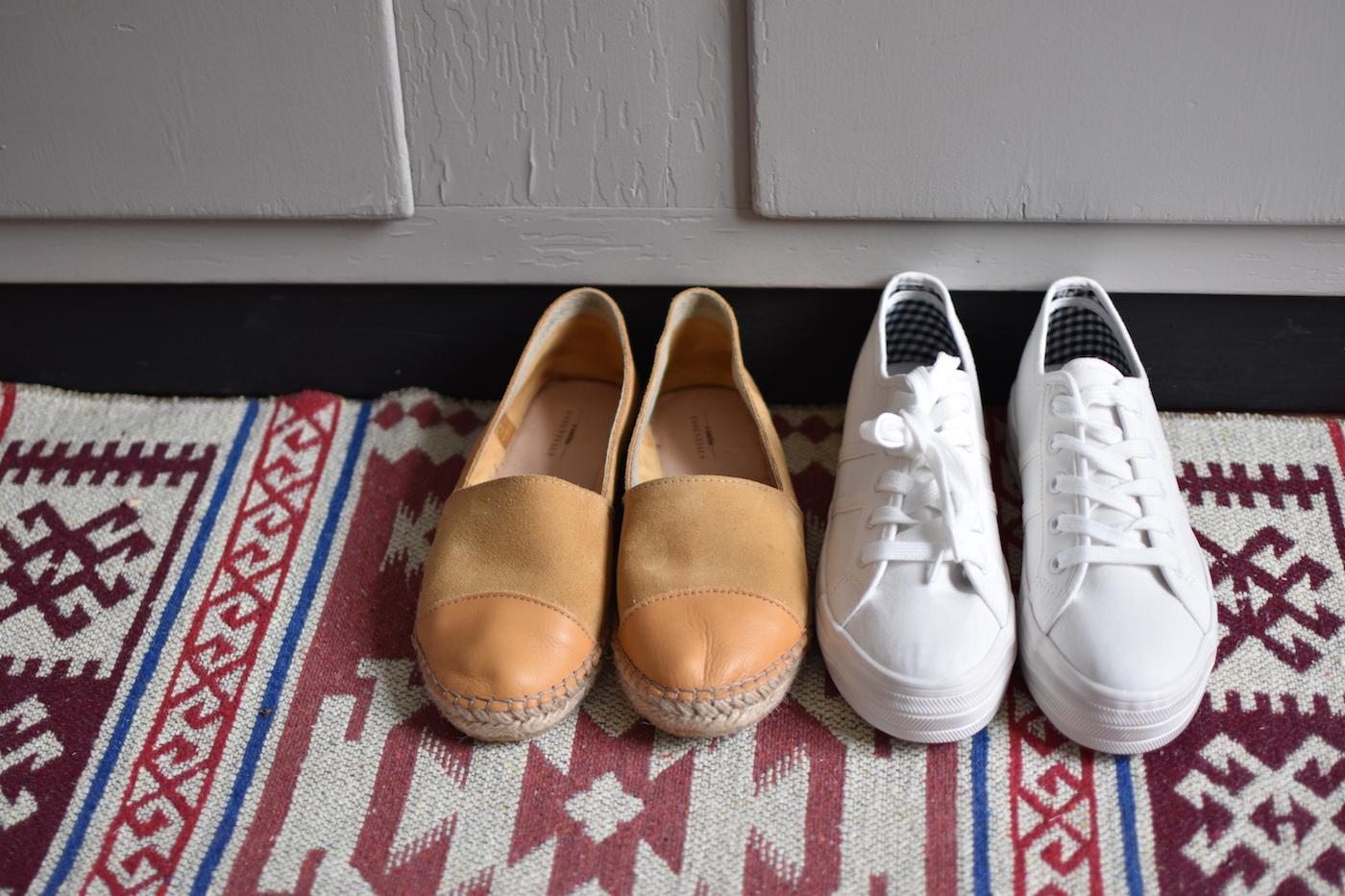 Paklijst Griekenland schoenen