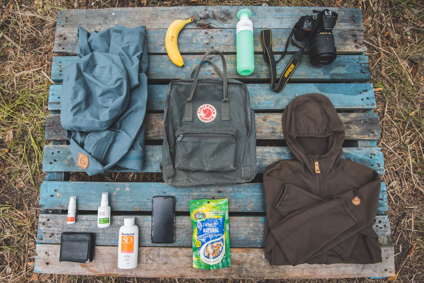 Paklijst Nieuw-Zeeland rugzak day hike meenemen