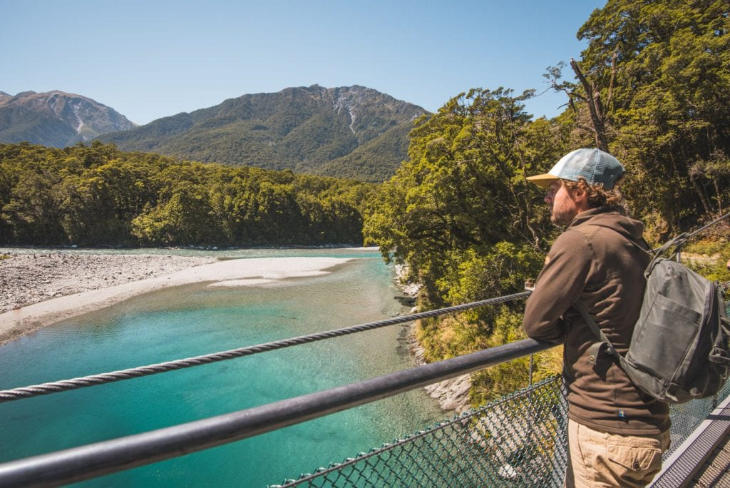 Paklijst nieuw zeeland hike outfit fjallraven blue pools