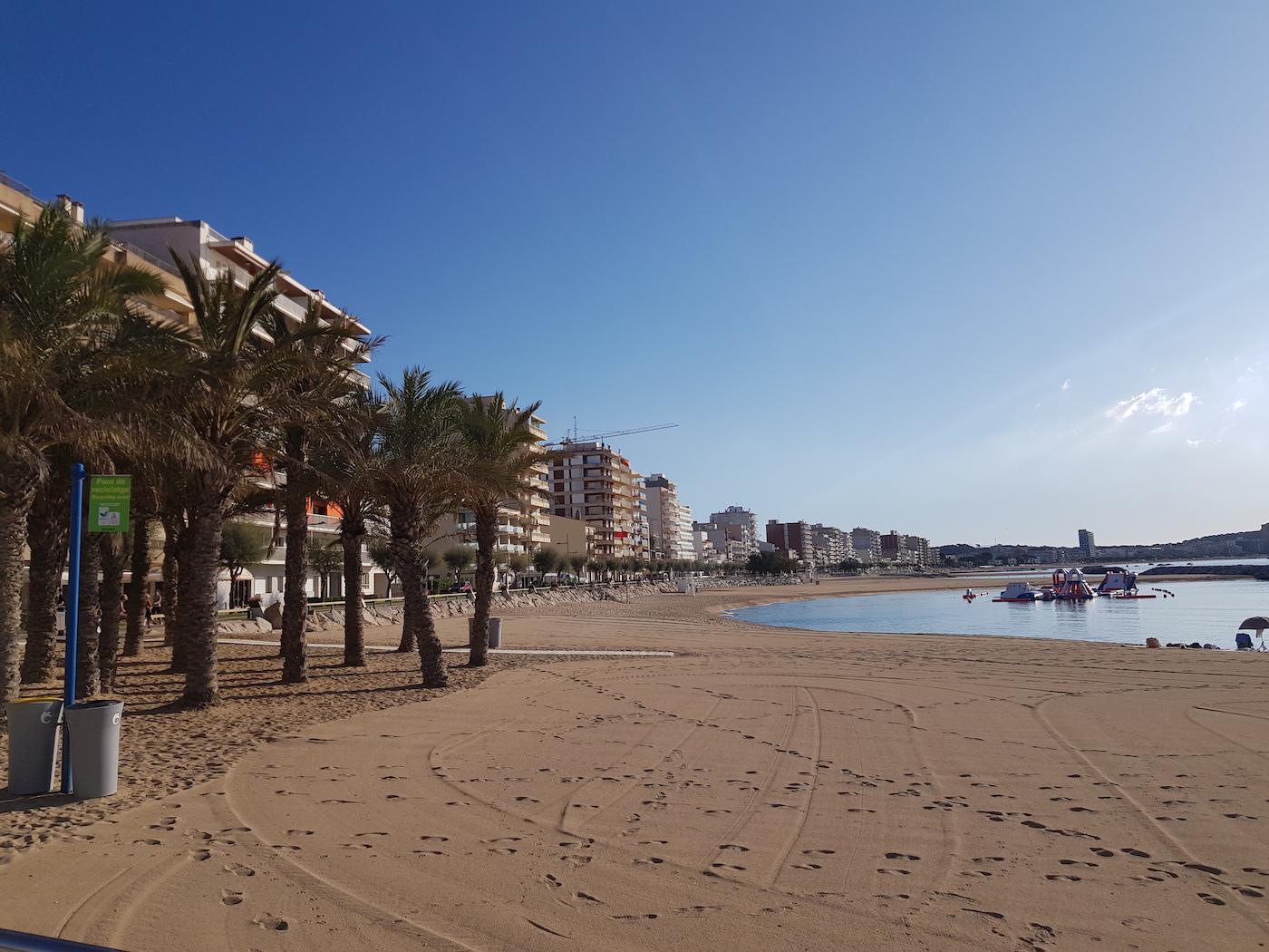 Palamos Spanje strand costa brava