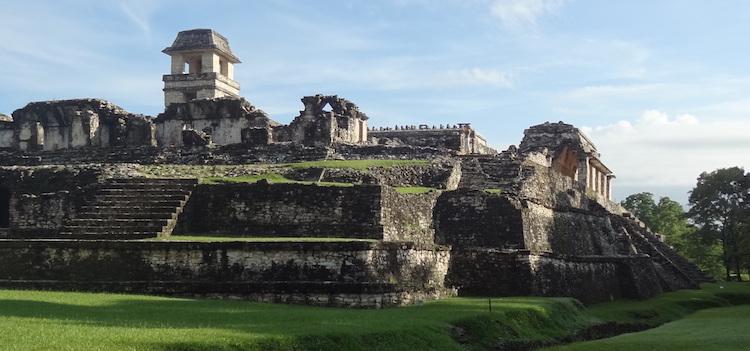 Paleis Palenque mayastad tempel