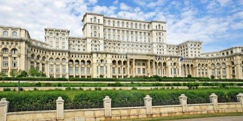 Paleis van Ceausescu roemenie