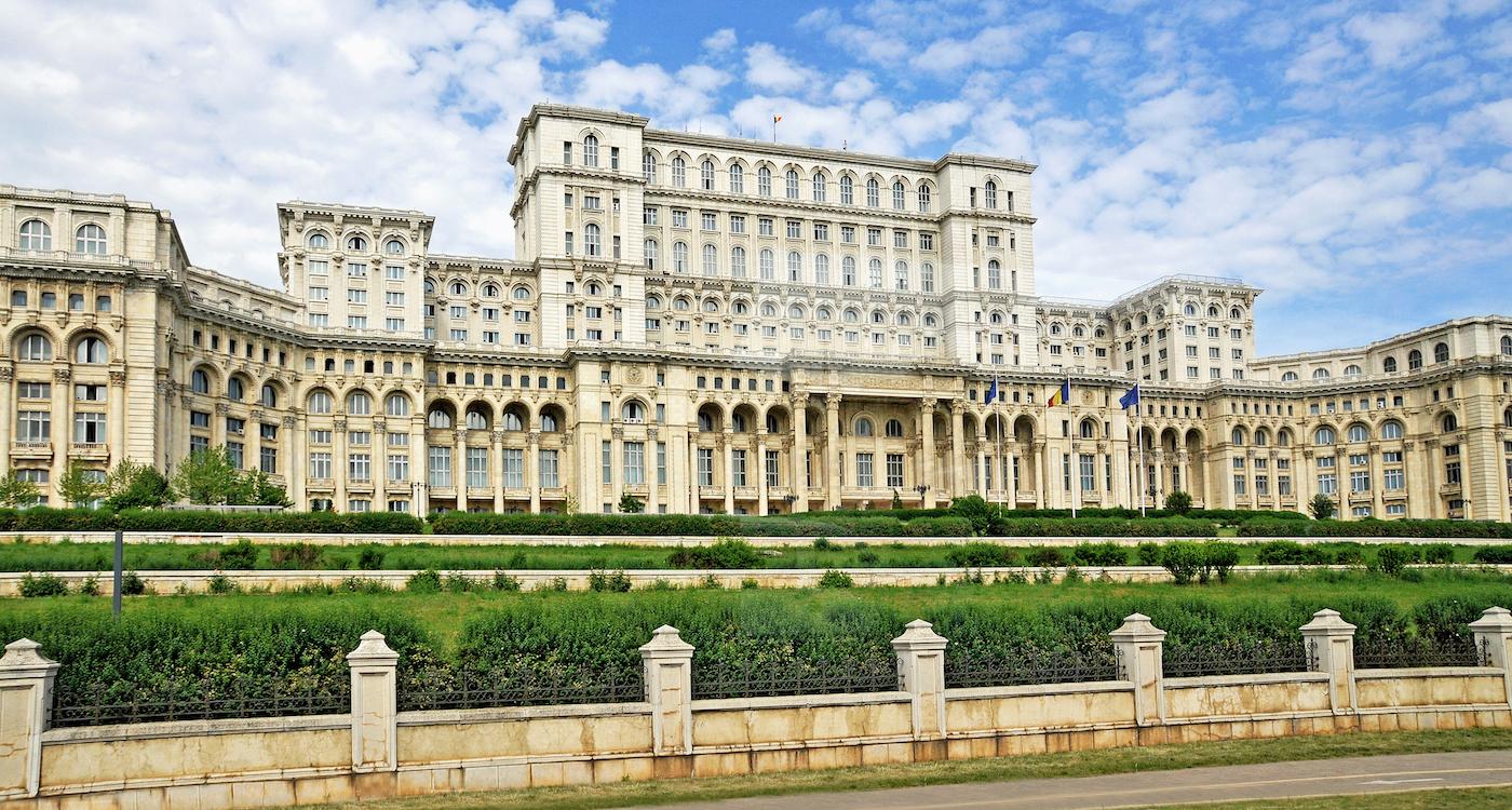 Paleis van ceausescu roemenie we are travellers - Houses romanias political leaders ...