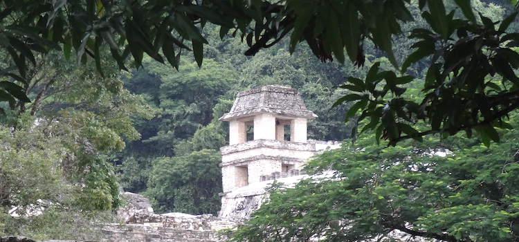 Palenque paleis Mexico mayastad