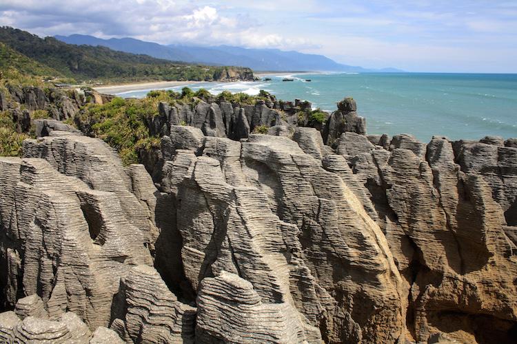 Pancake rocks rondreis Zuidereiland