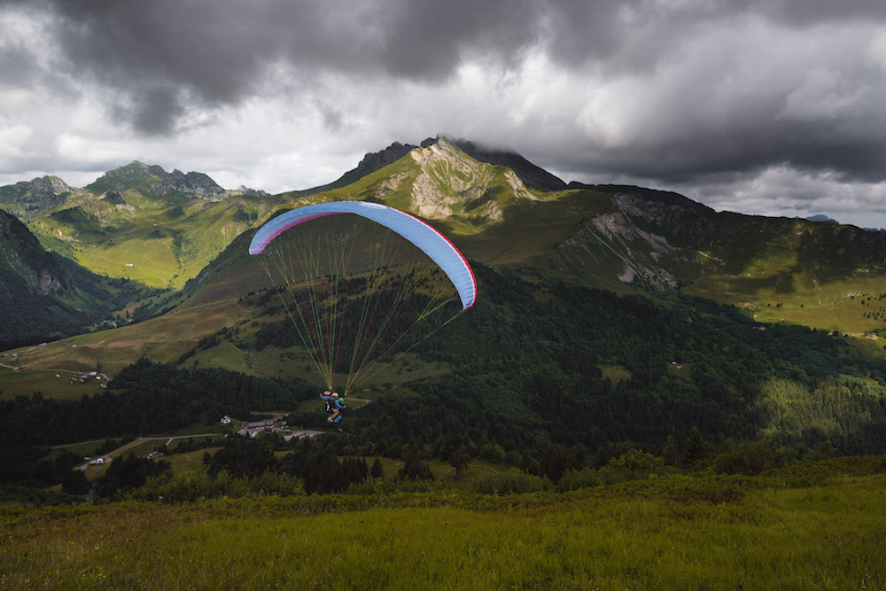 Paragliden Savoie Mont Blanc