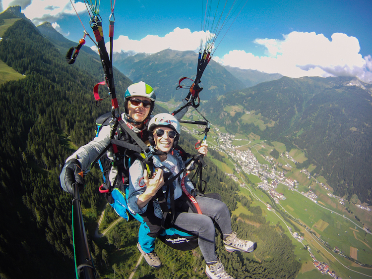 paragliden zomer in stubai tips