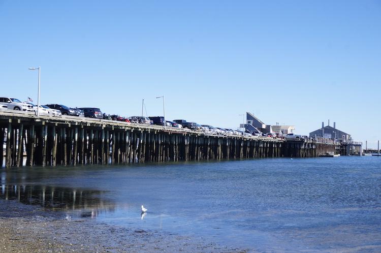 Parkeren op de Pier staat New York