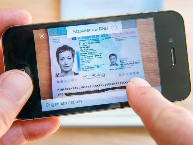 Paspoortnummer kopie maken paspoort