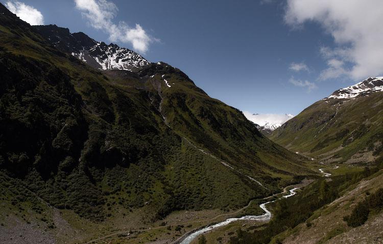 Pass de Fluela zwitserland 17