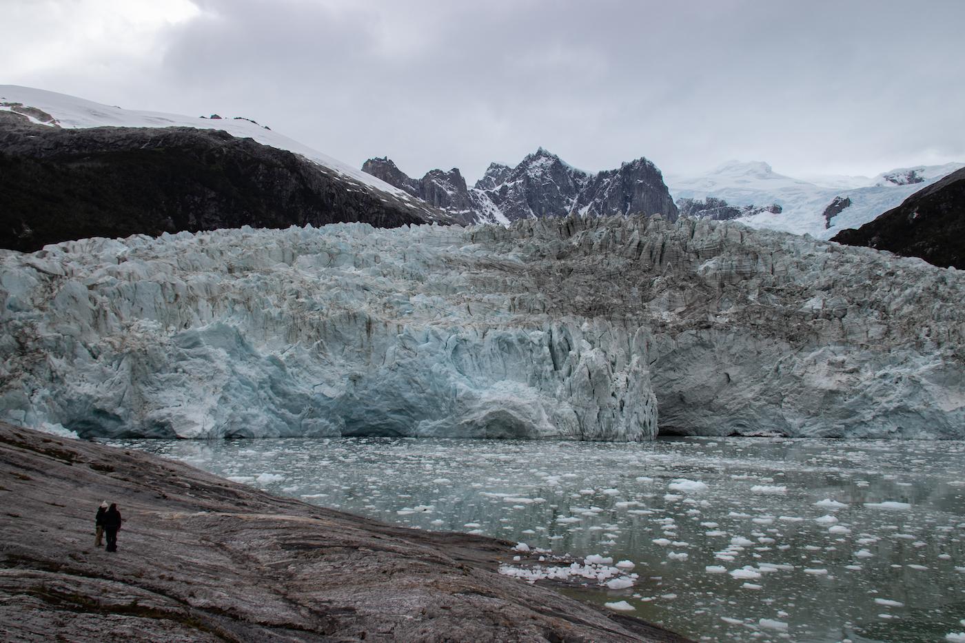 Patagonie cruise fjorden gletsjers