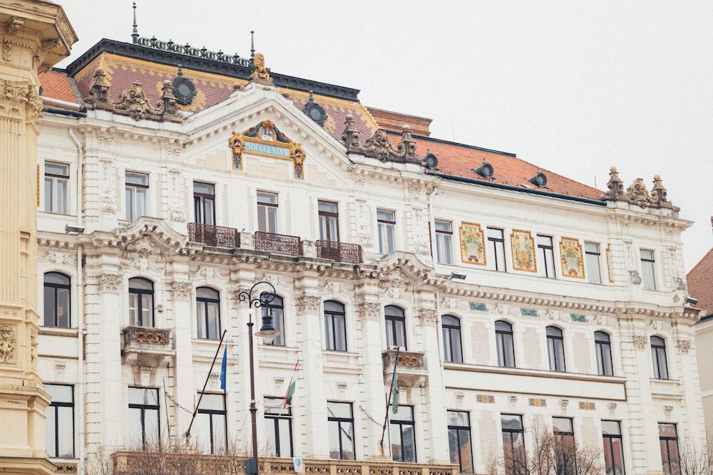 Pécs, een van de mooiste plekken Hongarije, gebouw