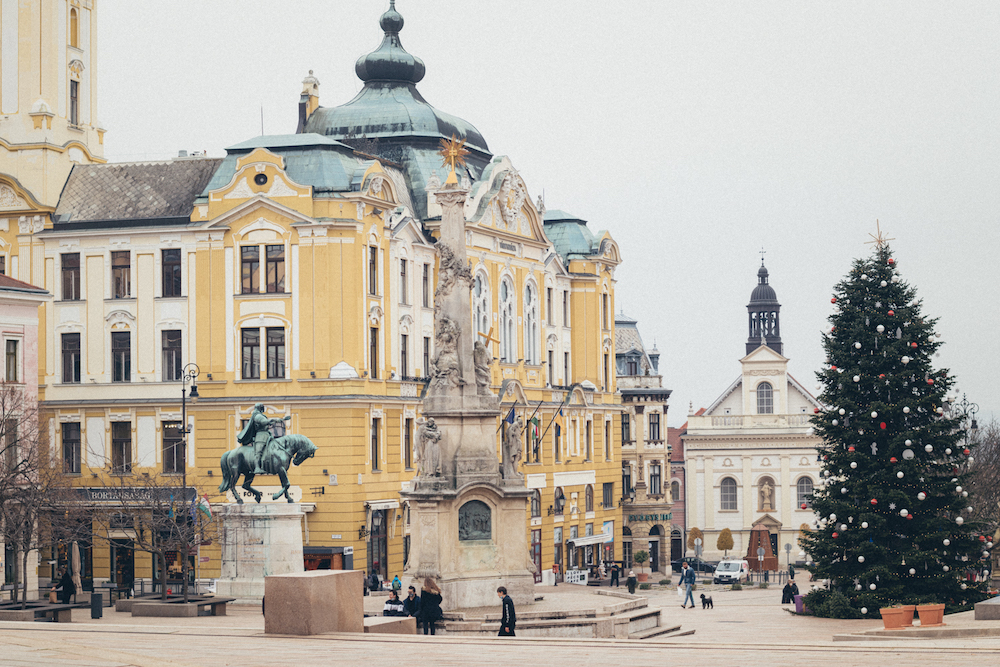 Pécs, een van de mooiste plekken Hongarije