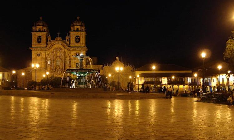 Peru 's avonds Cusco