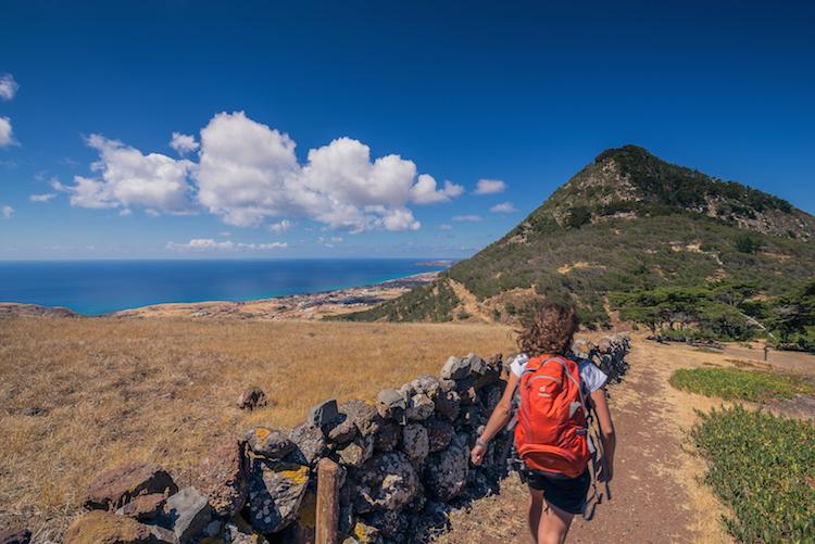 Pico Castelo walk Porto Santo
