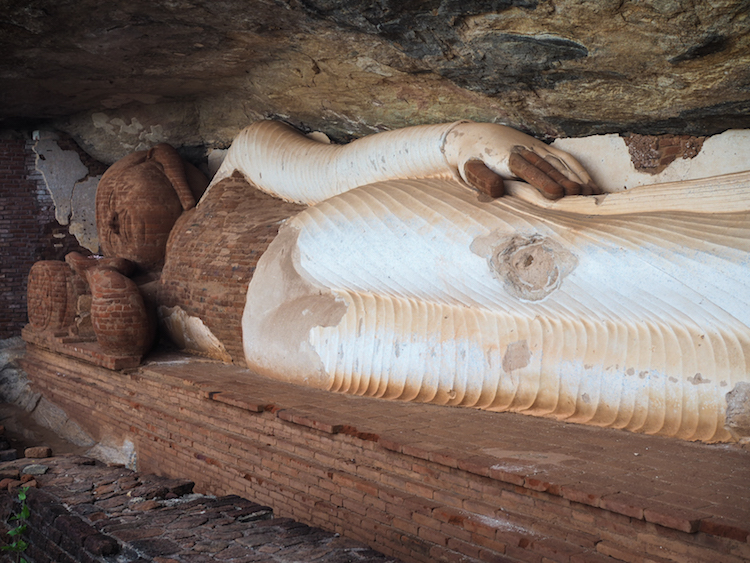 Pidurangala liggende boeddha