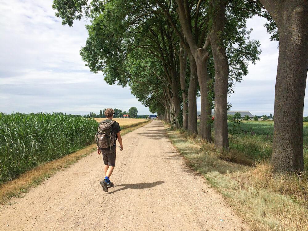 PieterPad lopen alleen