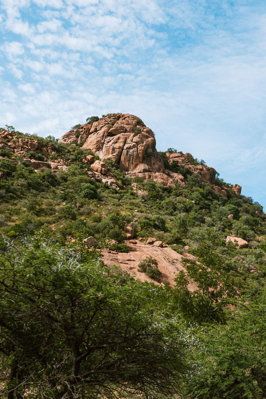 Pilanesberg national park rotsen