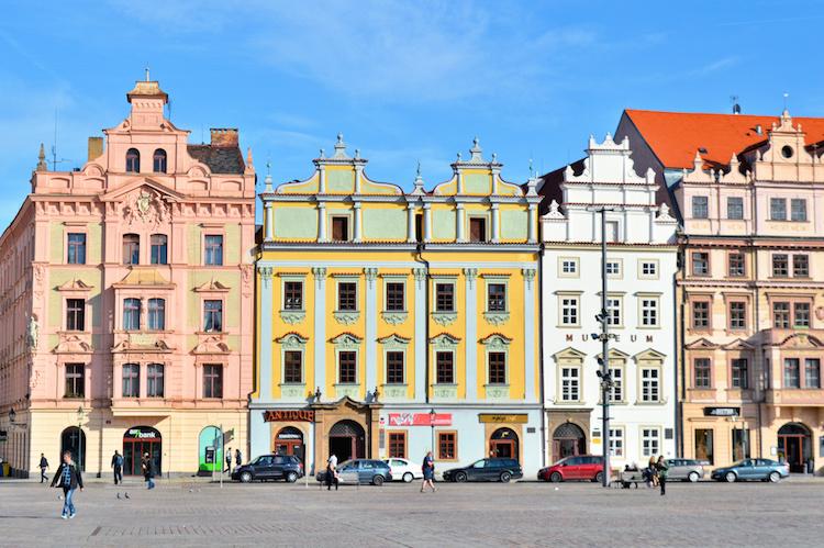 Pilsen Tsjechie architectuur stedentrip