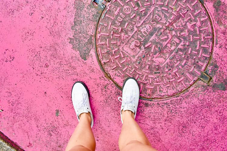 Pink street lissabon bezienswaardigheden