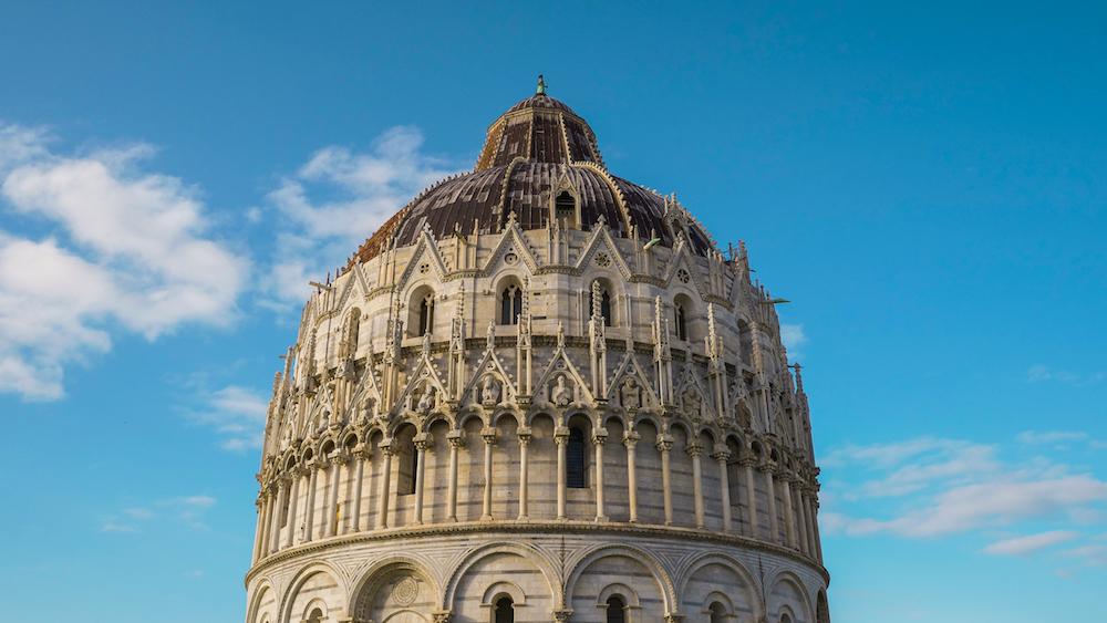 Pisa detail foto toren italie