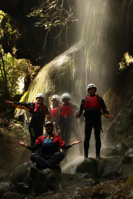 Pollino canyoning