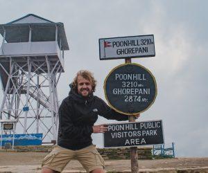 Poon Hill Trekking Nepal 3210 meter