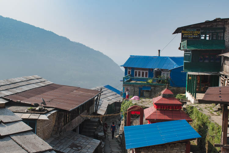 Poon Hill trekking Nepal begin-2