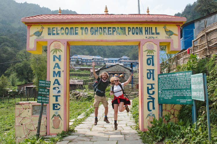 Poon Hill trekking Nepal begin-5