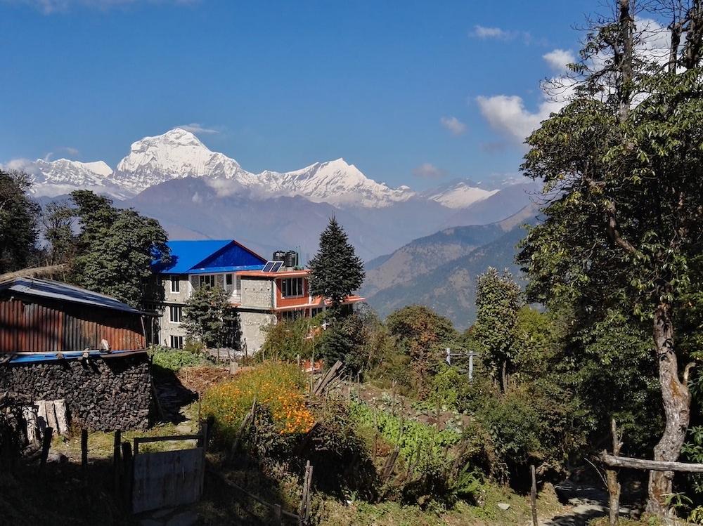 Poonhill trek nepal route