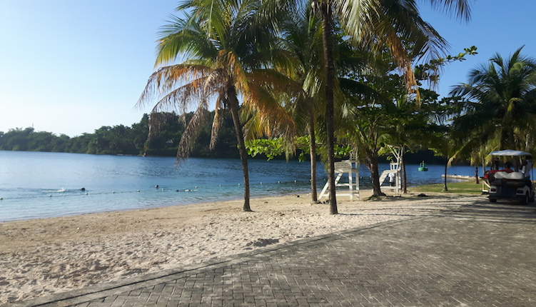 Port Antonio Jamaica bikini beach