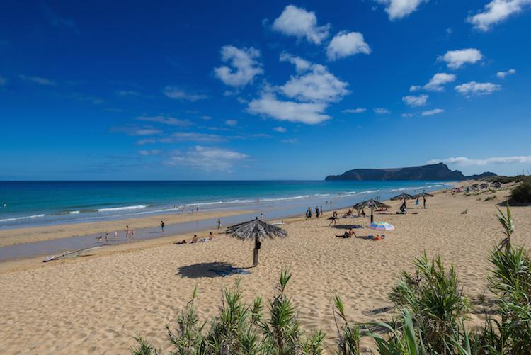 Porto Santo Madeira Luamar Beach