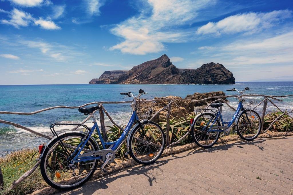 Porto Santo Madeira Ponta da Calheta Beach
