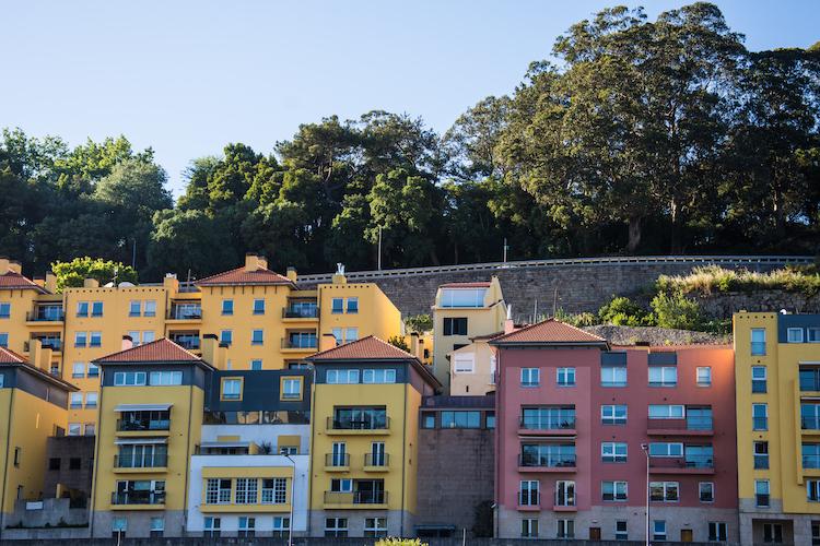 Porto huisjes stad noord portugal