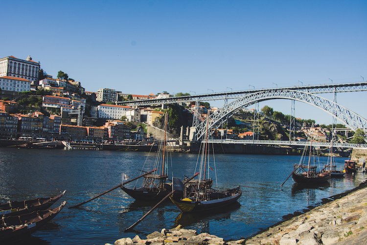 Porto in noord portugal