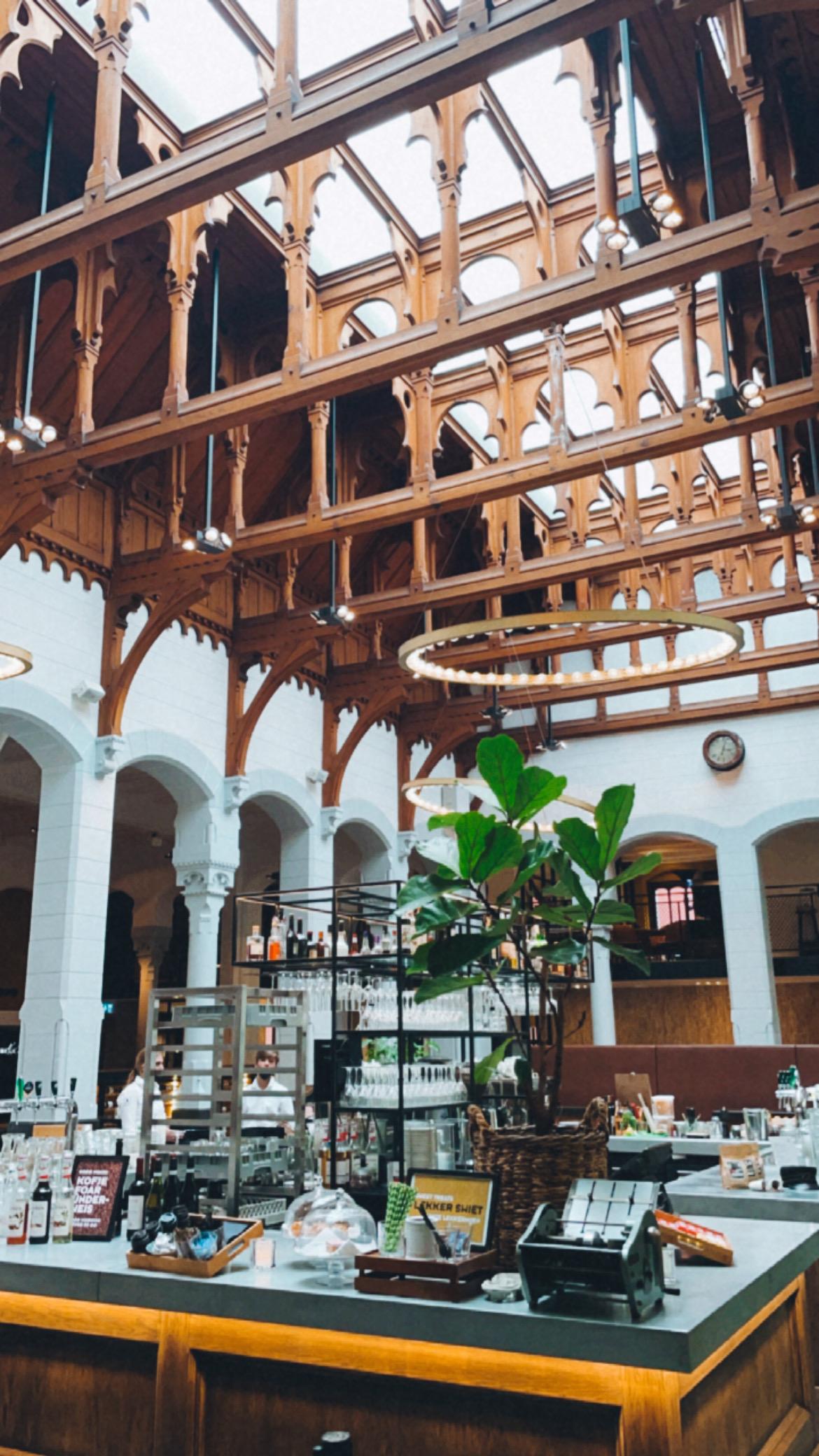 Post plaza hotel in leeuwarden grand cafe