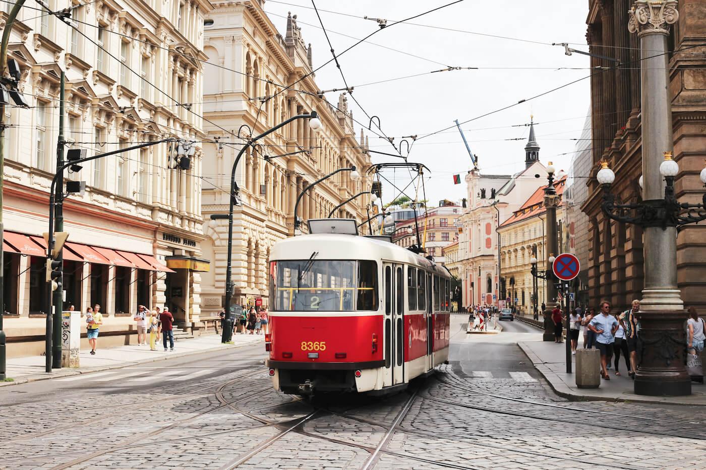 Praag bezienswaardigheden tram