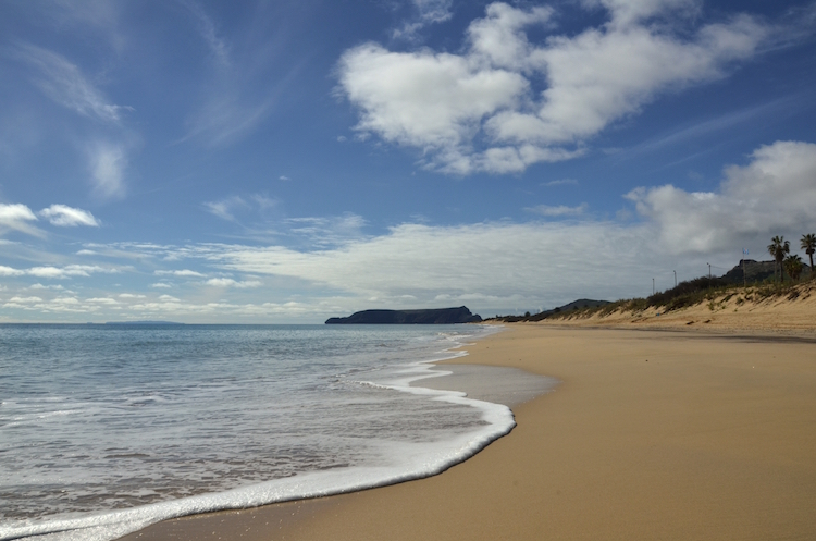 Praia do Pe na Agua Porto Santo